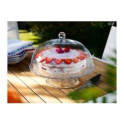 ARV BRÖLLOP Cake stand with lid - IKEA - For the Pastry Chef