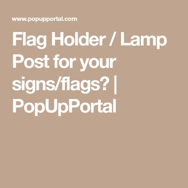25+ unique Flag holder ideas on Pinterest   Garden flag ...