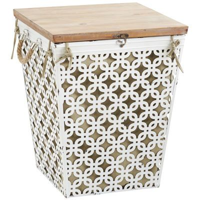 1000 ideas about wooden laundry hamper on pinterest for Pier one laundry hamper