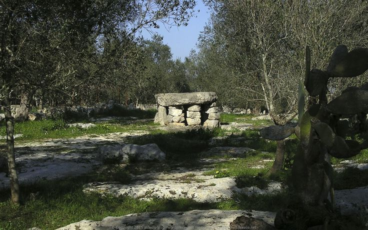 The Dolmen of Minervino