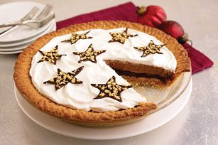 Easy Peanut Butter Cookie Fudge Pie Recipe - We love how great this pie looks and tastes.