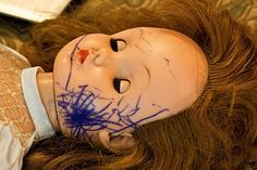 How to remove ink from a baby doll face... When I emailed American Girl, they recommended this as well