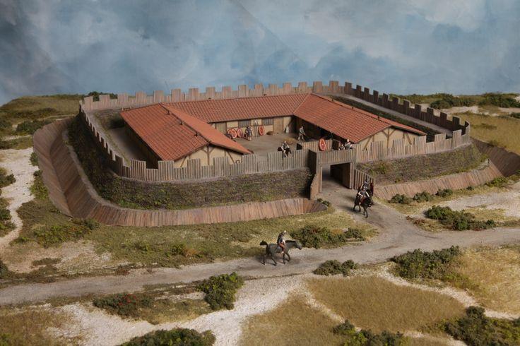 Het Romeinse fortje bij Ockenburgh