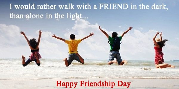 True Friendship Day Quotes And Messages