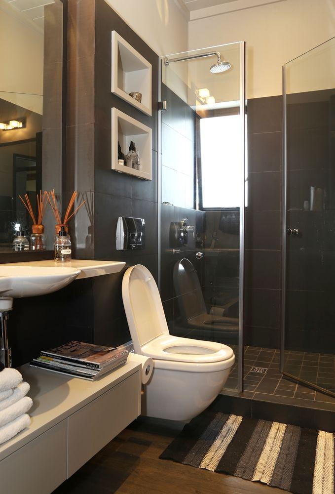 Chiappini Street: Bathroom.   FIREFLYvillas, Hermanus, 7200 @fireflyvillas ,bookings@fireflyvillas.com,  #ChiappiniStreet #FIREFLYvillas #HermanusAccommodation