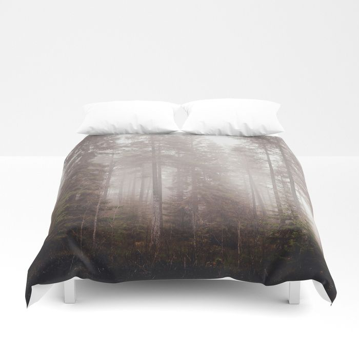 A fogilicious morning Duvet Cover by HappyMelvin | Society6