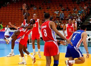 Blog Esportivo do Suíço:  Vôlei masculino de Cuba garante vaga nos Jogos Olímpicos depois de 16 anos