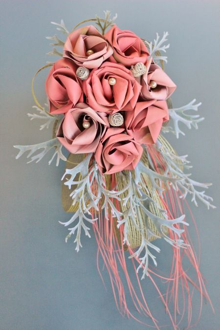 Flaxation for flax wedding bouquets & flowers