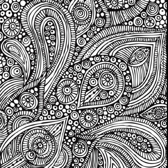 Paisley Pattern Colouring Sheets : 233 best coloring pages images on pinterest