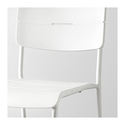 VÄDDÖ Chair, outdoor - white - IKEA