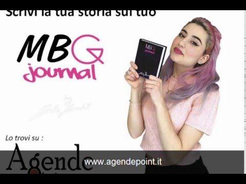 MBG jurnal di Greta Menchi il diario agenda personalizzabile copertina nera