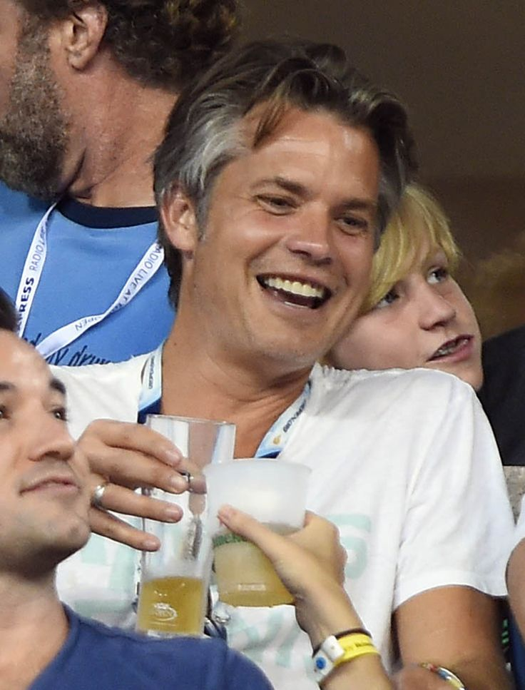 Timothy Olyphant Spotted Enjoying U.S. Tennis Open Match With Will Ferrell - Timothy Olyphant