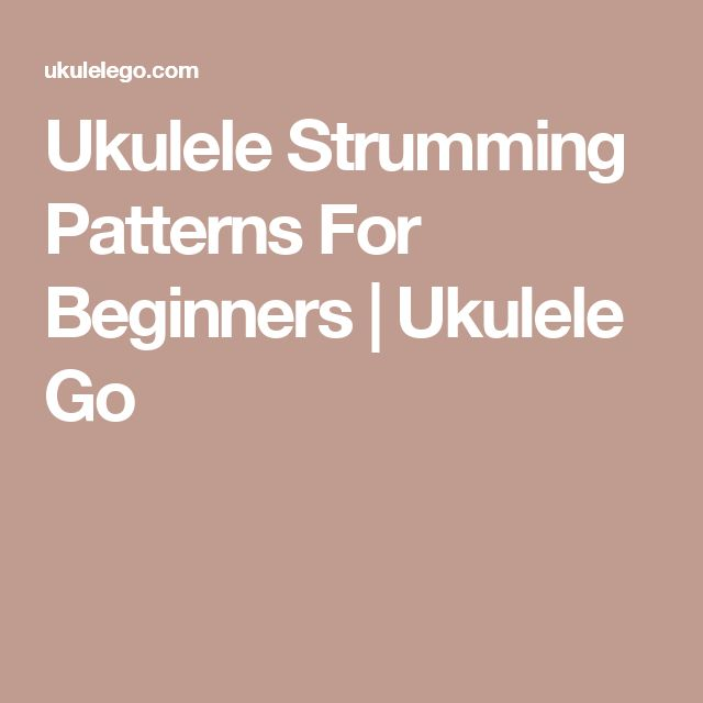how to play ukulele chords for beginners