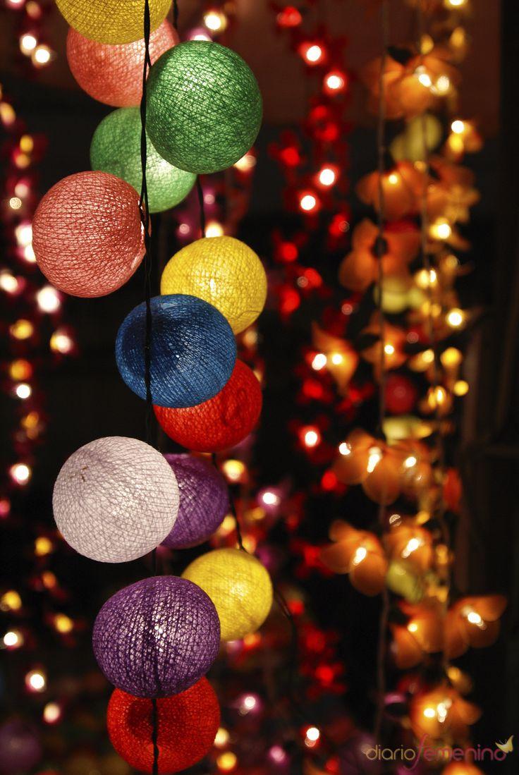 Las 25 mejores ideas sobre guirnalda de luz en pinterest y - Guirnaldas de luces ...
