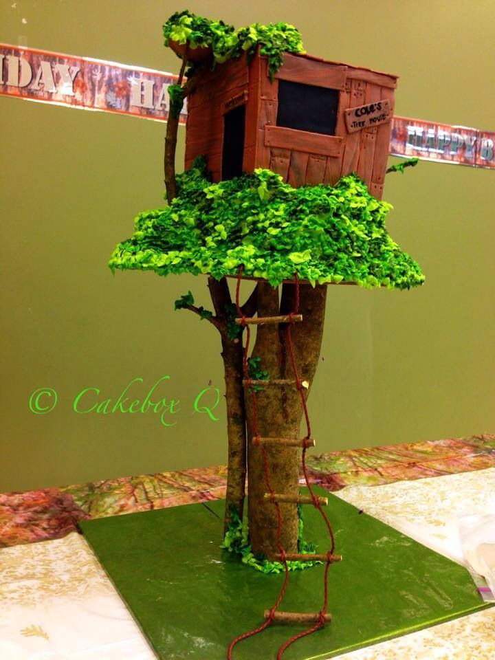 Magic Tree House Party Cake Magic Tree House Pinterest