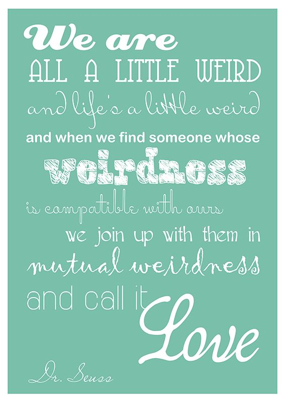 Amazing Dr Seuss Quote Poster. I NEED This In My House
