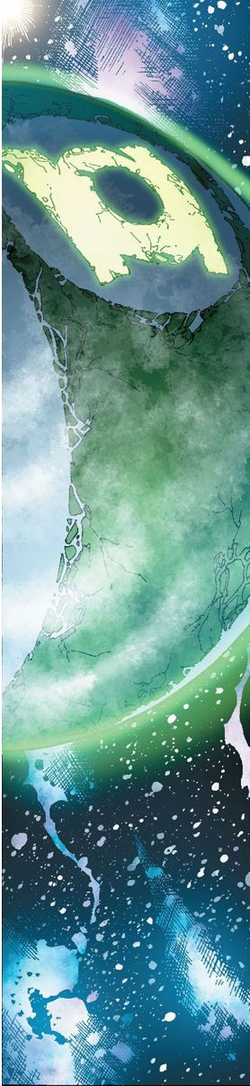 Green Lantern Mogo by Fernando Pasarin