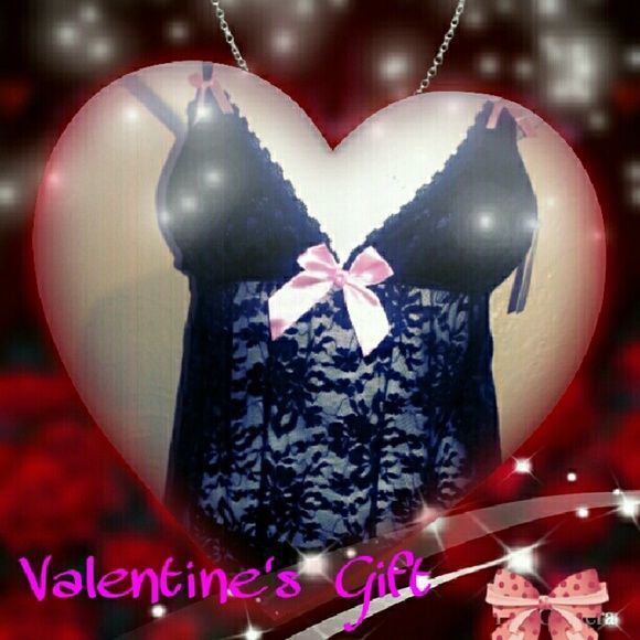 Sexy floral mesh Teddy lingerie Teddy & G-String. No returns on undergarments. Tracy Intimates & Sleepwear Chemises & Slips