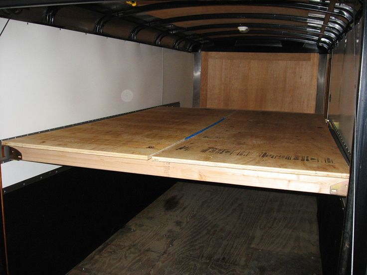 Enclosed trailer build camping pinterest for 020 interieur