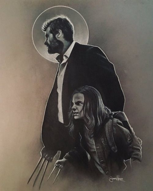 "cinexphile: ""Logan (2017) by James Hance """