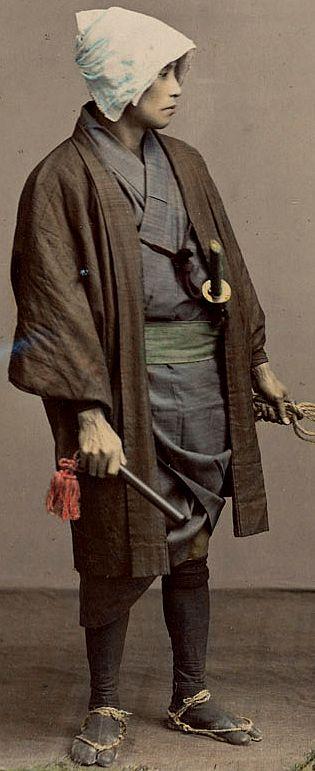 Keikan (policeman) - Meiji - Taishou Jidai - 19th Century -