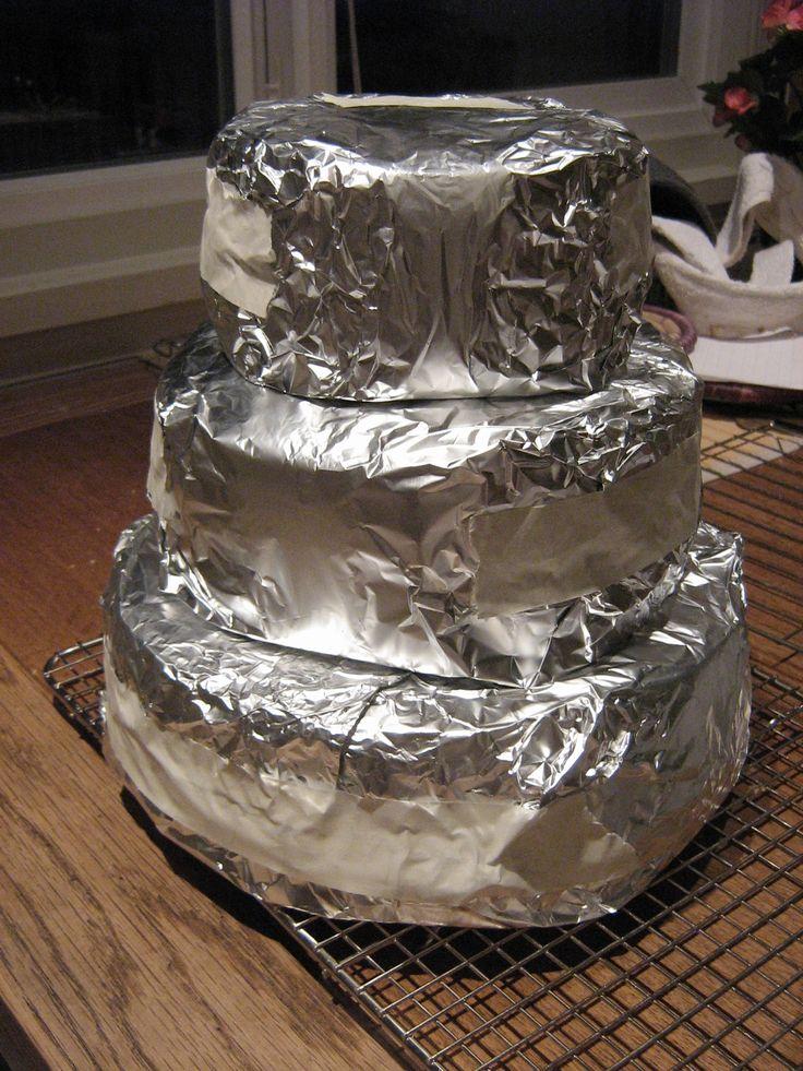 Plastic Wrap Or Foil For Pound Lemon Cake