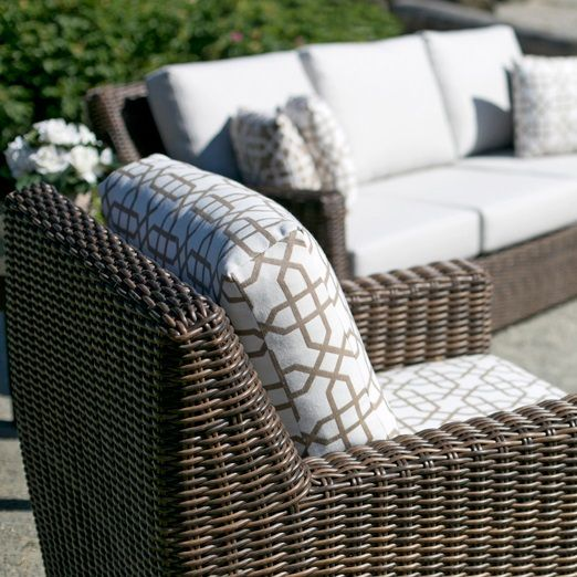 all weather resin wicker patio furniture by ratana - Resin Wicker Patio Furniture