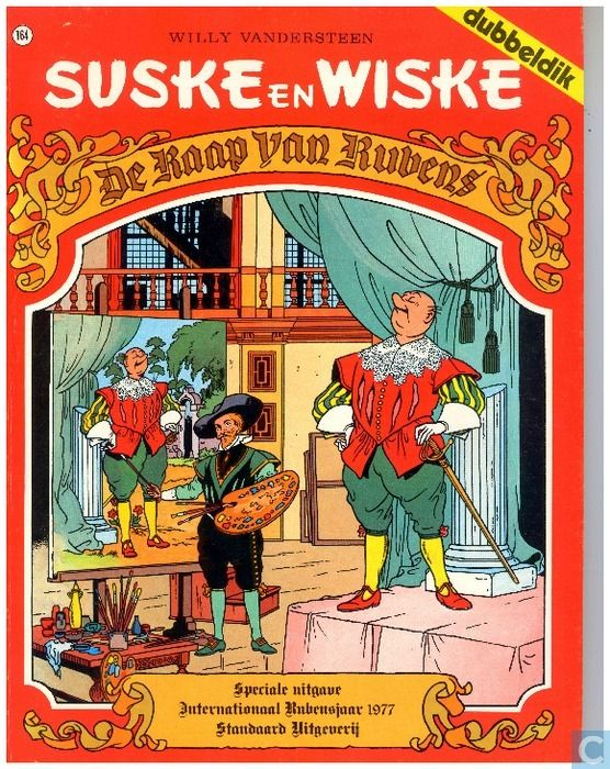 Strip - Suske en Wiske - De raap van Rubens