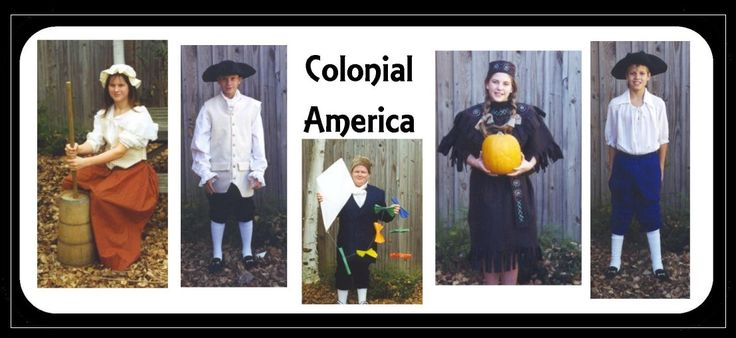 Colonial America Unit including fact pages, activities, and interactive quizzes