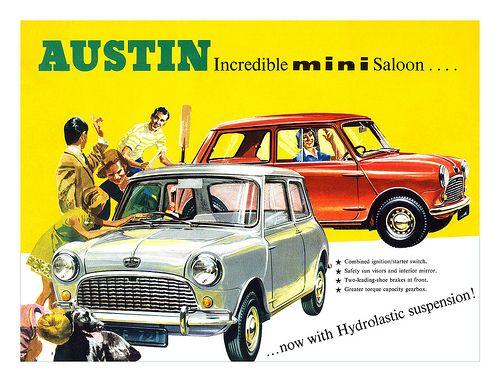 Austin Mini brochure