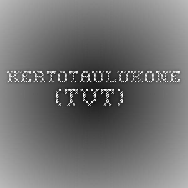 Kertotaulukone (tvt).