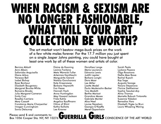 """""""When Racism and Sexism Are No Longer Fashionable,"""" 1989"""