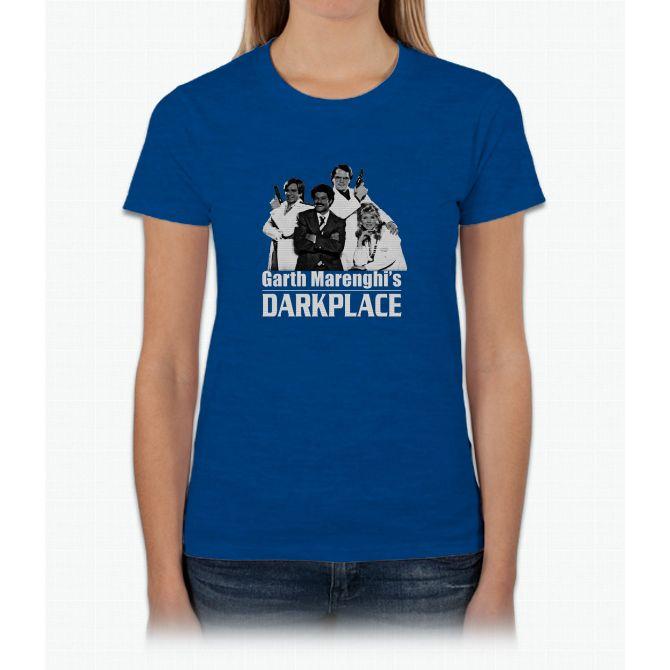 Garth Marenghi's Darkplace Womens T-Shirt