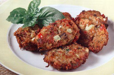 eggplant balls - Greek Food Recipes