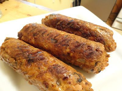 "Gluten-Free Spicy Italian Sausage, Part II | The ""V"" Word **Think I might try these tonight! -Vegan Mariposa"