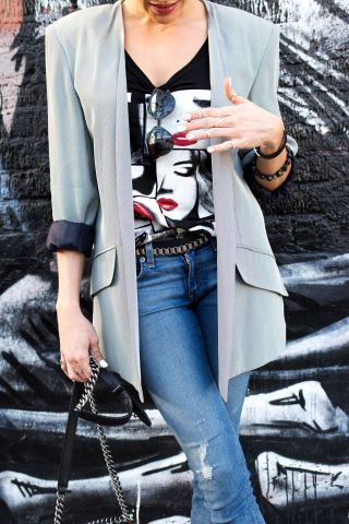 Tomboy chic: the perks of dressing like you don't care.