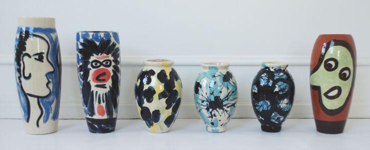 Ceramics by Ole Bach Sørensen and Annette Sjølund