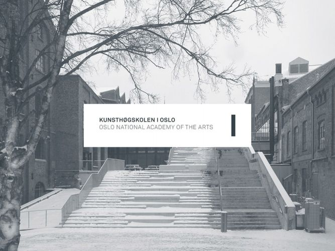 Identity for Oslo National Academy of the Arts. With Ole Sletten and Siri Østvold.