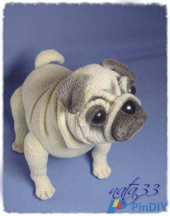 248fa45ac0bc Nata 33 - Natalia Zagrebina - Pug Dog-Knitting and Crochet  Communication-Crochet Patterns