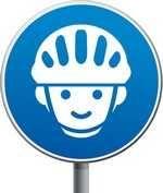 Casque vélo recommandé. Que ce soit en conduisant son petit vélo, en accompagnant papa ou maman, attaché sur son siège vélo bébé, ou, sanglé dans une remorque, notre enfant est confronté à des risques de chutes et de chocs. Pour le moment, en 2014, le port du casque n'est pas obligatoire en France. Les associations de cyclistes s'y opposent. Mais ce n'est pas une raison pour ne pas tenter de bien protéger nos petits. http://www.choisir-un-lit-enfant.com/choisir-le-casque-velo-de-son-enfant