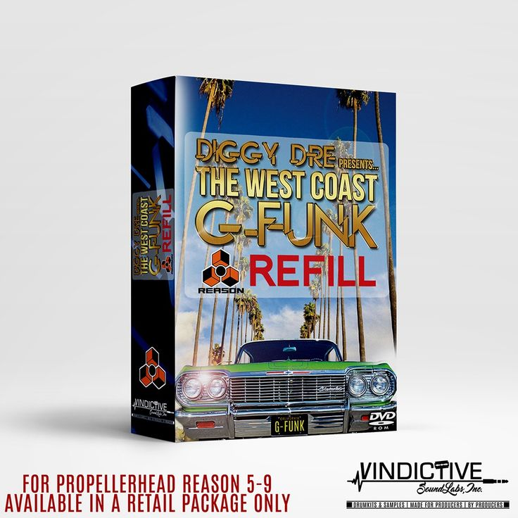 Image of THE WEST COAST G-FUNK (REASON REFILL)