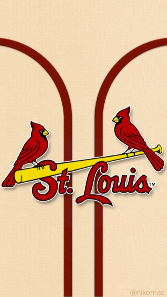 St. Louis Cardinals iPhone Wallpaper