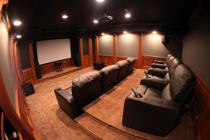 home theater wall designs - Google Search