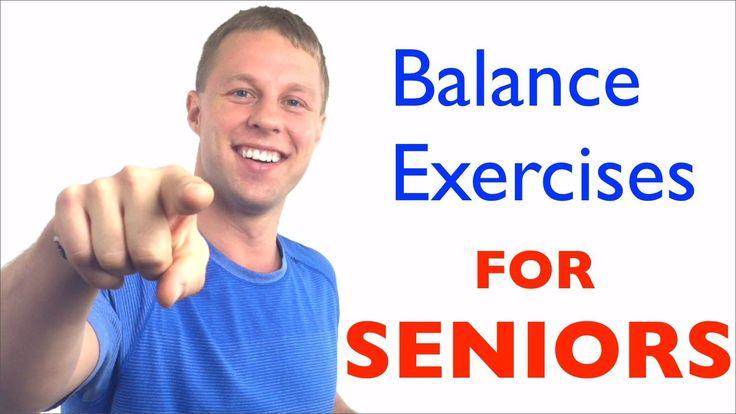 Balance Exercises for Seniors - Fall Prevention - Balance Exercises for ...