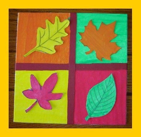tableau feuilles d 39 automne automne pinterest automne tableau et superposition. Black Bedroom Furniture Sets. Home Design Ideas