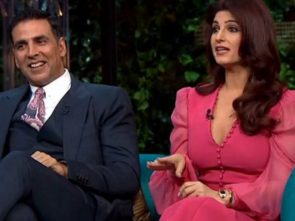Akshay Kumar recently crooned his favourite song for wifey Twinkle Khanna on 'Koffee With Karan'. Here's the video of the same...