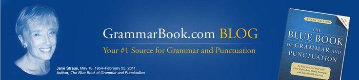 Pop Quiz  Choose the correct proper noun in each sentence below. The original pr