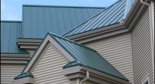 Green Tin Roof Go Green Environmental Roofing In Terre