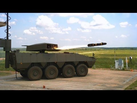 Lockheed Martin DAGR & HELLFIRE missiles tests from Patria AMV - YouTube