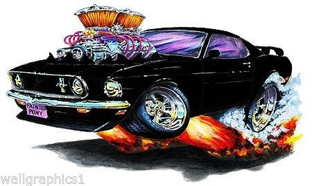 Mad Dog 1969 Ford Mustang 302